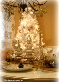 gold christmas my silver gold dining room decorated for christmas