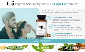 amazon com toji pure density hair vitamin supplement
