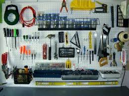 Peg Board Shelves by How To Hang Pegboardgarage Pegboard Storage Ideas Garage Shelves