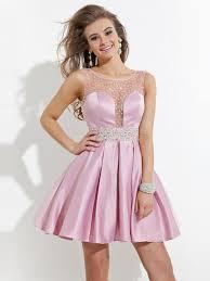 best graduation dresses best sale pearl pink a line scoop beading 8th grade graduation