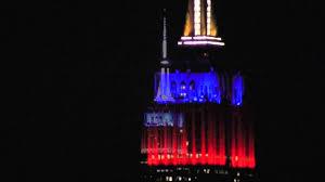 Filipino Flag Colors Philippines Typhoon Haiyan Empire State Building Nyc Yolanda