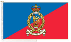 Flag Corps British Army Adjutant General S Corps Flag With And Toggle