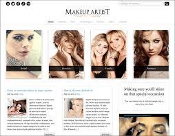 makeup artist websites best makeup artist website template images themes
