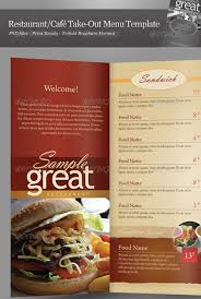 takeout menu template 25 high quality restaurant menu design templates menu templates