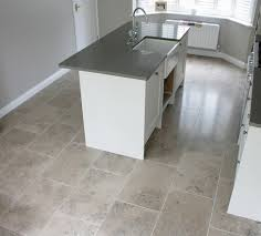 tiled kitchen floors ideas limestone floor tiles unique and stylish flooring in your home