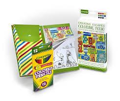 crayola creative escapes art set deal coupon world