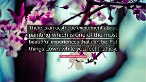 quote excitement charles webster hawthorne quote u201cthere is an aesthetic excitement