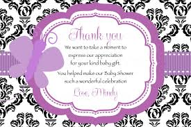 wedding shower thank you gifts family bridal shower thank you card sayings fresh baby shower