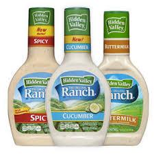 hidden valley original ranch dressing buttermilk 16oz target