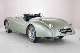 jaguar xk 120 ots 3 4 1951 hexagon