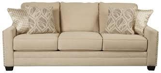 benchcraft mauricio queen sofa sleeper with memory foam mattress