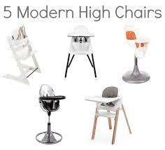 Pedestal High Chair 5 Modern High Chairs For The Modern Home Savvy Sassy Moms