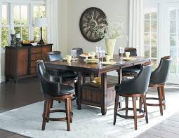 homelegance 5447 36xl bayshore counter height dining table set on sale