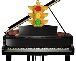 keyboard that lights up to teach you how to play what a traffic light can teach you about learning to play the piano