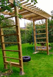 diy swing pergola u2013 the house near the forest