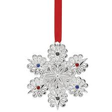 2016 jeweled snowflake ornament lenox ornaments