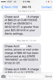Text Message 2014 - banks and consumers increasingly use text alerts to fight fraud