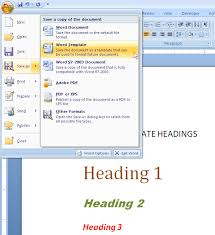 how to switch templates for a ms word 2007 or word 2010 technical