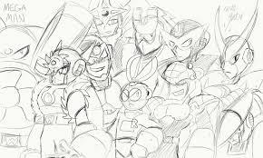 robot master collage sketch u2014 weasyl
