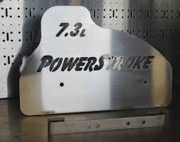 l power stroke aluminum engine cover