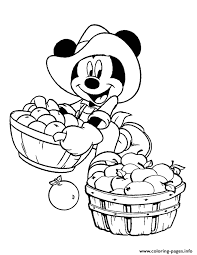 mickey thanksgiving coloring pages harvest time mickey disney coloring pages printable