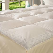 pillow bed topper bedding decorative feather bed topper mattress