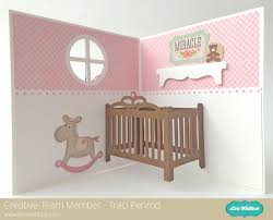 baby crib bed pop up card tutorial with traci lori whitlock