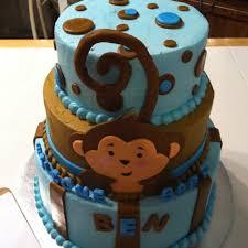 monkey baby shower cake monkey baby shower cake baby shower monkey cake monkey baby
