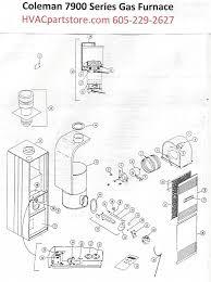 7995 856 coleman gas furnace parts u2013 hvacpartstore