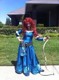 Merida Halloween Costume 34 Sewing Disney Running Princess Merida Images