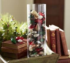 Christmas Lights In A Vase This Vase Of Colorful Bulbs Shows A Clever Way To Repurpose Old