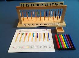 hanging bead stair with extension worksheet matemáticas