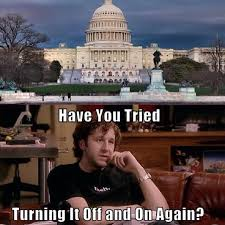 congress have you tried turning it off and on again ned