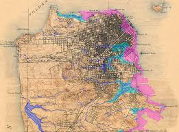 San Francisco Area Map by 19 Best San Francisco Maps Images On Pinterest Francisco D U0027souza