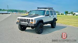 turquoise jeep car built cherokee old u2014 davis autosports