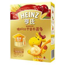 cr駑aill鑽e cuisine heinz亨氏金装智多多猪肝红枣营养面条336g 盒 6 36个月价格 图片 评测