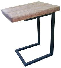 end table with locking drawer fascinating c table with drawer c shaped accent table wood c shape