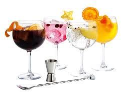 luminarc fiesta combinados cocktail party set 6 pieces amazon co