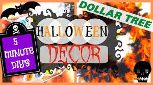 diy halloween decor 2016 dollar tree halloween diy youtube
