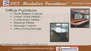 office furniture by scs modular furniture bangalore youtube