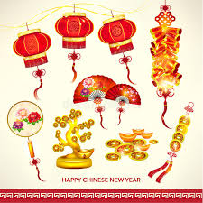 New Year Decoration Vector by Happy Chinese New Year Decoration Set Stock Vector Image 48427686