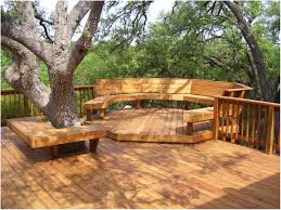 backyards modern beautiful backyard decking ideas for our house
