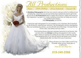wedding videography prices events