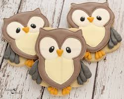 thanksgiving cookie decorating ideas woodland owl decorated cookies baby shower cookies baby