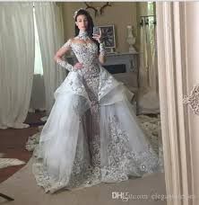 grecian wedding dress fantacy luxury wedding dresses with detachable skirt