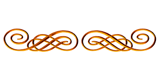 copper ornamental flourish png image pictures picpng