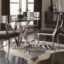 Contemporary Dining Room Table 25 Best Round Glass Table Top Ideas On Pinterest Glass Table