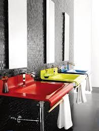 badezimmer rot badezimmer deco rot modern deko badezimmer fliesen modern mit