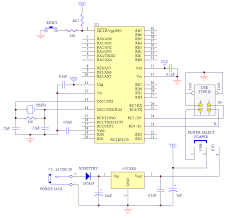 tkj electronics minimal pic18 usb connection schematic