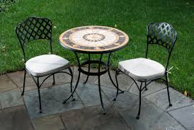 Round Patio Furniture Set by How To Decorate Using Small Patio Table U2013 Decorifusta